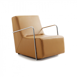 Club small armchair metal arm_B0240205